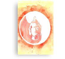 Buddha Watercolor Canvas Print
