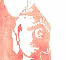 Buddha Watercolor Sticker