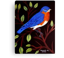 Pretty bird Canvas Print