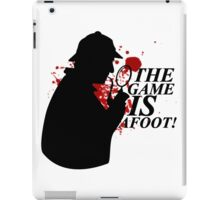 The Game is AFOOT! V.2 iPad Case/Skin