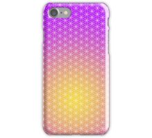 Flower of Life - Purple & Gold iPhone Case/Skin