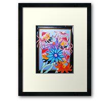 fluttery flowers Framed Print
