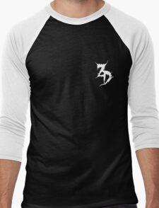 Zeds Dead Logo Men's Baseball ¾ T-Shirt
