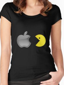 The day when Apple was eaten Women's Fitted Scoop T-Shirt