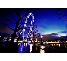 The Millennium Wheel an artistic perspective Photographic Print