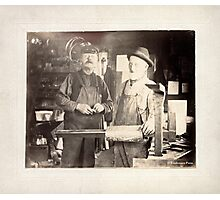 Cabinet Card: Early 20th Century Tinsmiths Photographic Print