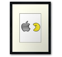 The day when Apple was eaten Framed Print