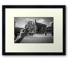 Mason College, Chamberlain Square 1960, Black & White Framed Print