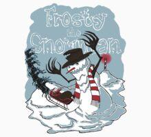 Frosty the Snowman by Arqhfredo