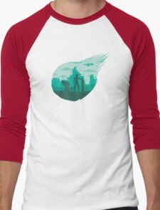 Valley of the fallen star Men's Baseball ¾ T-Shirt