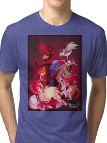(Original) Hazbin Hotel Cast Tri-blend T-Shirt