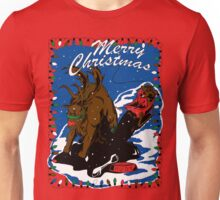 Rudolph the Red Nose Beast Unisex T-Shirt