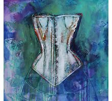 Corset And Butterflies Photographic Print