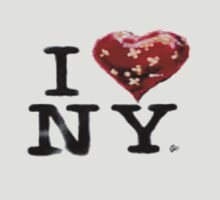 Banksy I love New York by lewislinks