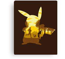 Yellow Companion Canvas Print