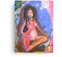 dreamy birth glow Canvas Print