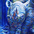 Blue Rhino by Marion Yeo
