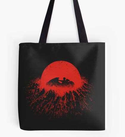 Winds over Neo-Tokyo Tote Bag