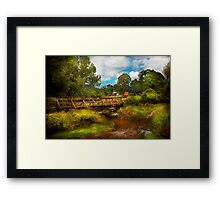 Country - Country living Framed Print