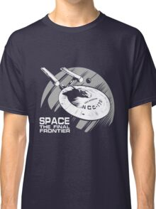 Space: the final frontier Classic T-Shirt