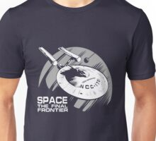 Space: the final frontier Unisex T-Shirt