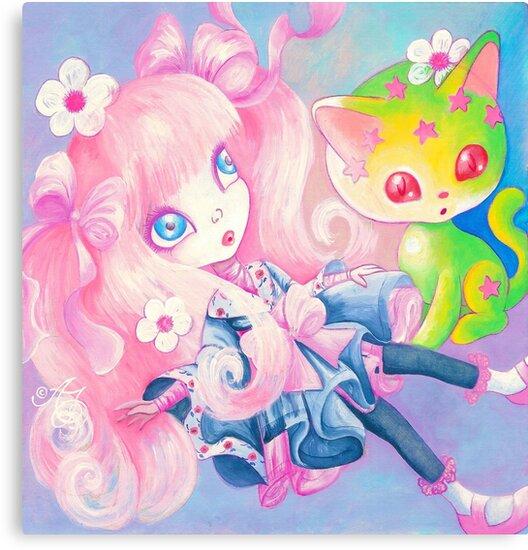 Sweet Kitty Time by TenshiNoYume