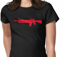 M16/203 Grenade Launcher Womens Fitted T-Shirt