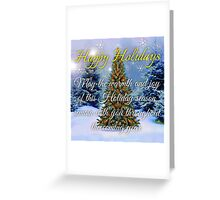 Happy Holidays cards Greeting Card