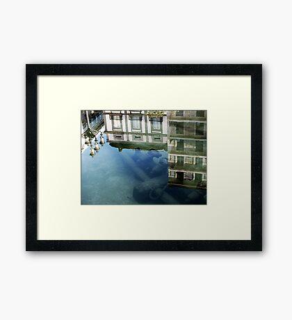 reflecting.. Framed Print