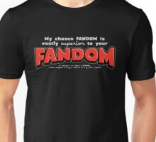 Fandom! Unisex T-Shirt