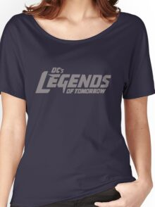 DC's Legends of Tomorrow (Gray Text) Women's Relaxed Fit T-Shirt
