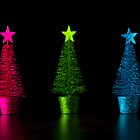 Three Christmas Trees by Alan Organ