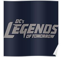 DC's Legends of Tomorrow (Gray Text) Poster