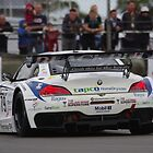 British GT 2013 Donington - #79 Marco Attard / Oliver Bryant - Ecurie Ecosse BMW Z4 GT3 - Melbourne Hairpin by motapics