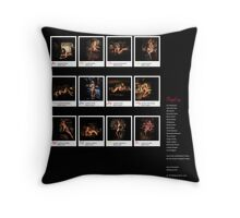 The Ladies at the Bar - Backcover Throw Pillow