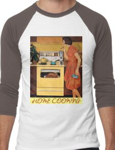 Home Cooking  Men's Baseball ¾ T-Shirt