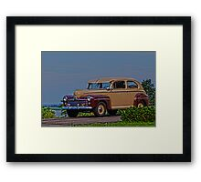 Classic Ford Framed Print