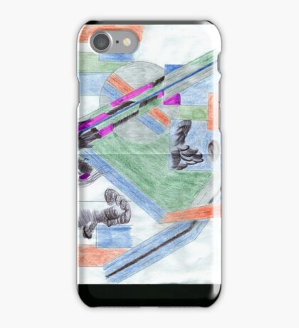 DOWN, NEW TOWN iPhone Case/Skin