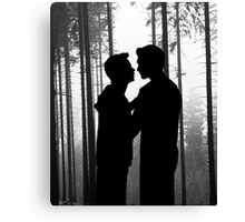 Forest Confession Canvas Print