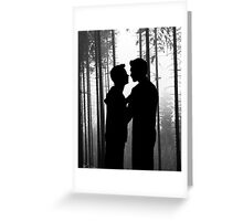 Forest Confession Greeting Card