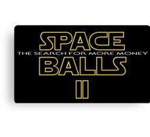 SPACE BALLS II Canvas Print