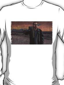 Walter White with Big Gun T-Shirt