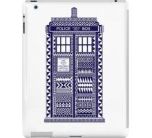 Aztec Tardis iPad Case/Skin