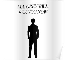 Mr. Grey Will See You Now - Fifty Shades of Grey Poster