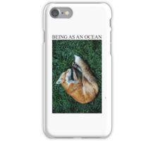 Being As An Ocean Fox iPhone Case/Skin