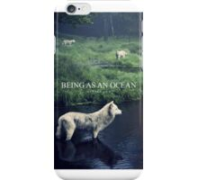 Being As An Ocean Wolf iPhone Case/Skin