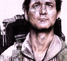 Peter Venkman from Ghostbusters by AaronBir