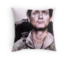 Peter Venkman from Ghostbusters Throw Pillow