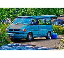 Volkswagon Camper Photographic Print