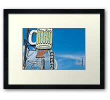 Draft Beer Framed Print